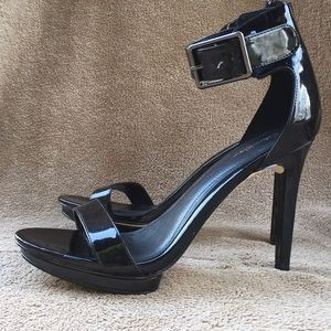 Calvin Klein Vivian Black Patent Leather